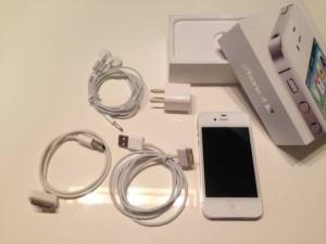 iphone4sオークション出品