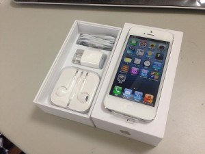 iphone5オークション販売金額
